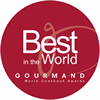 Best in the World - Gourmand World Cookbook Awards